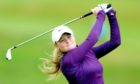 Shannon McWilliam lost to Hannah Darling at Gullane on Saturday