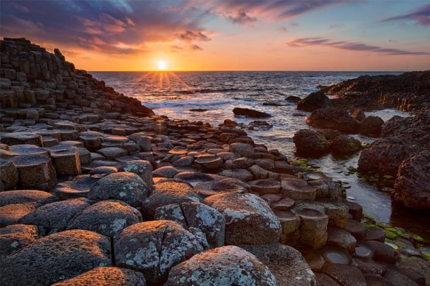The Giant's Causeway.