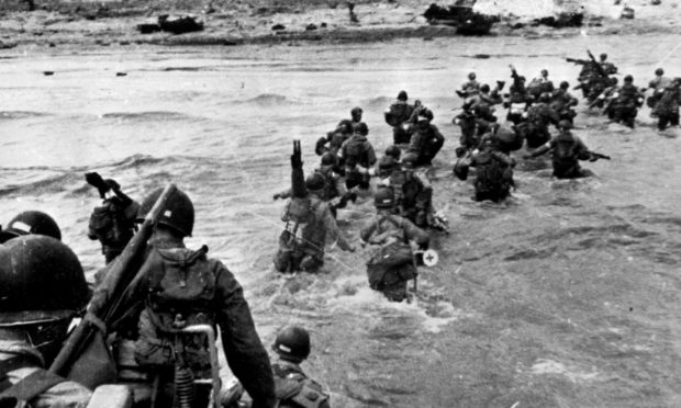 Eric Johnston was a hero on D-Day but did not think of himself that way.