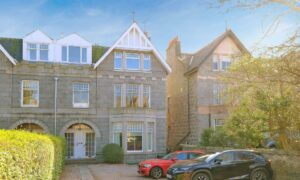 Period property: 47A Queen's Road perfectly blends modern design with traditional features.