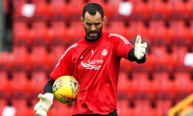 Aberdeen club captain Joe Lewis.