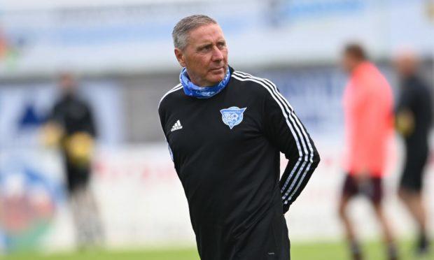 Peterhead boss Jim McInally
