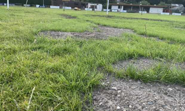Fort William's Claggan Park is not currently playable