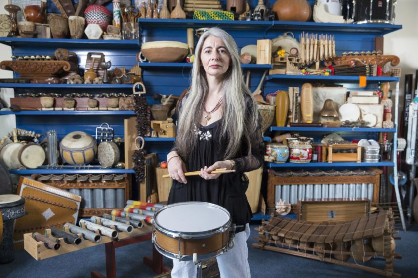 Dame Evelyn Glennie has welcomed the Scottish Government's announcement.