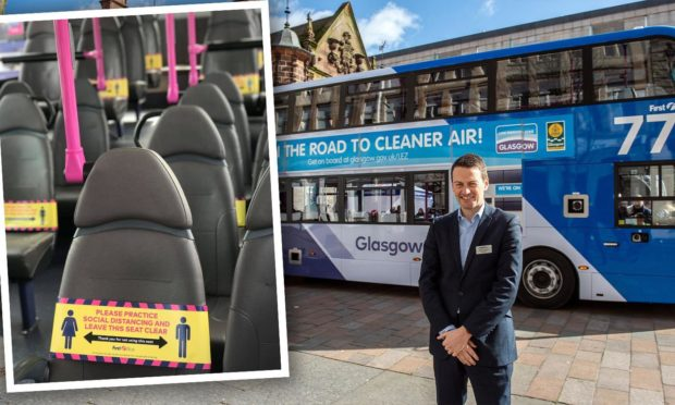Duncan Cameron, the interim managing director for First Bus in Scotland.