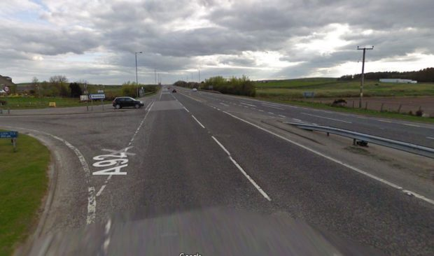 Police are appealing for witnesses following a serious crash at Blackdog, Aberdeenshire.