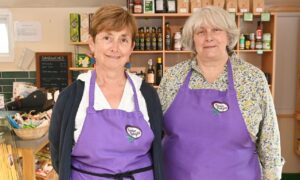 Karen Woodhouse and Jane Hodgson of Food for Thought Deli