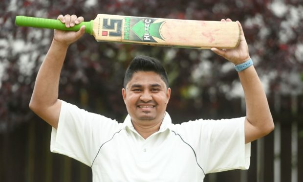 Mynul Nadim scored 232 not out for 2nd Grampian in the Grade 3