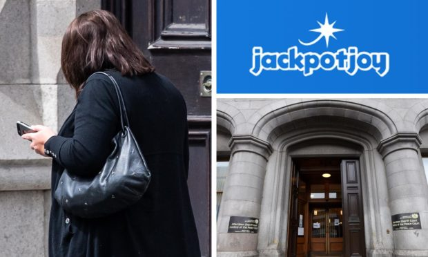 Nicola Thomson spent the money at Jackpotjoy.