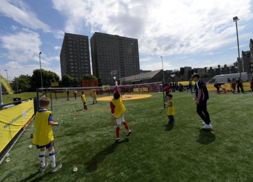 There are already two Cruyff Courts in Aberdeen.