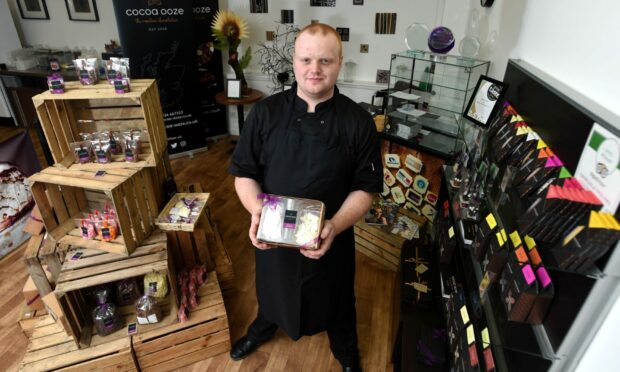 Jamie Hutcheon, owner at Cocoa Ooze.