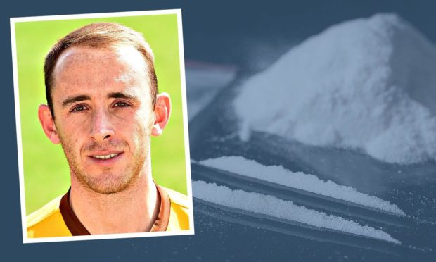 Footballer Gordon Finlayson has pleaded guilty to being concerned in the supply of cocaine