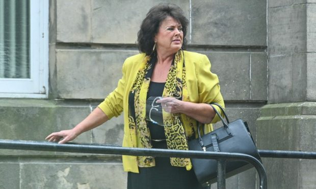 Dorothy Jack appeared at Elgin Sheriff Court.