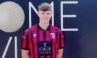 Inverurie Locos player James Connolly.