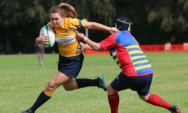 Garioch RFC women's captain Jessica Silcocks.