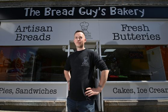 Gary McAllister of The Bread Guy.