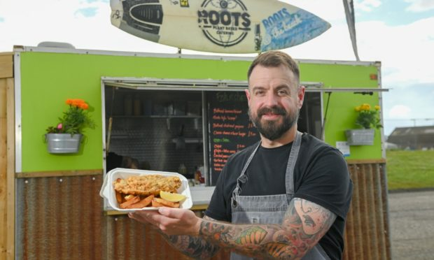 Nick Coetzer, owner of Roots Catering.
