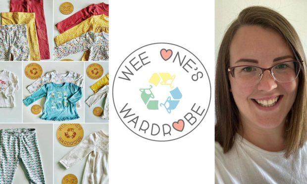 Katie Wade has set up her own children's swap shop.