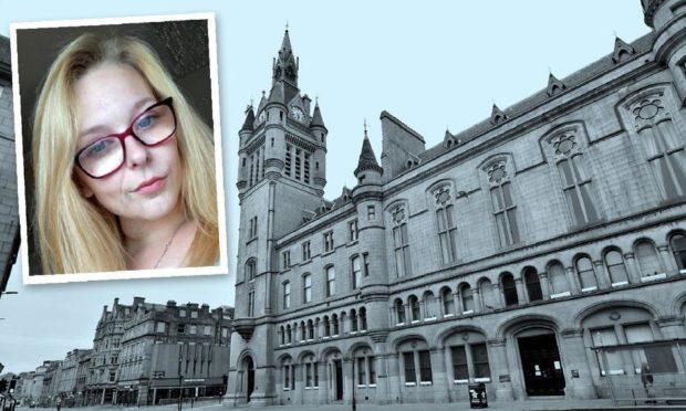 Lauren Tough appeared at Aberdeen Sheriff Court.
