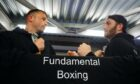 Fundamental Boxing organisers Liam Todd, left, and Nicky Adams have arranged the event to raise funds for Mental Health Aberdeen.