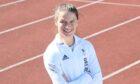Zoey Clark at Aberdeen Sports Village.