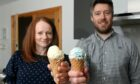 Martyn and Louise Brooks have launched Mad Cow Ices in Portlethen,