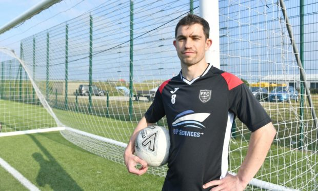 Fraserburgh's Willie West is hoping to win the Evening Express Aberdeenshire Cup for the fifth time