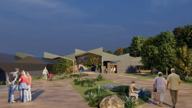 Operators of the Highland Wildlife Park has received a £1.9m investment from the The National Lottery Heritage Fund to support the creation of their new visitor centre.