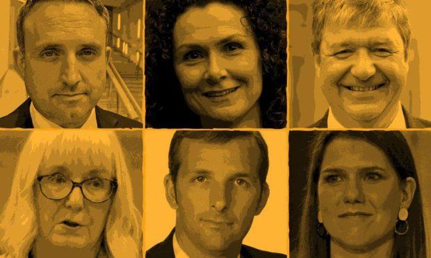 Possible candidates for next Scottish Lib Dem leader.