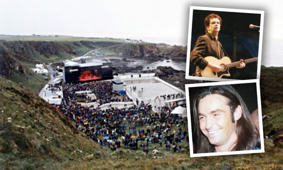 Thousands of fans gathered to watch Runrig and Wet Wet Wet perform at Tarlair in 1994.