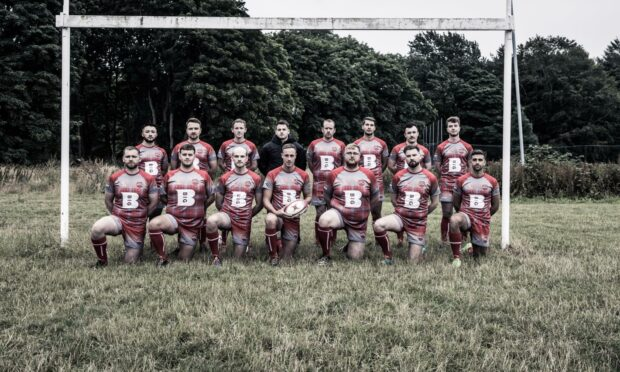 Aberdeen Taexali Rugby Club has announced its new kit sponsorship deal with BIG Partnership.  Picture supplied by J Dyer Photography.