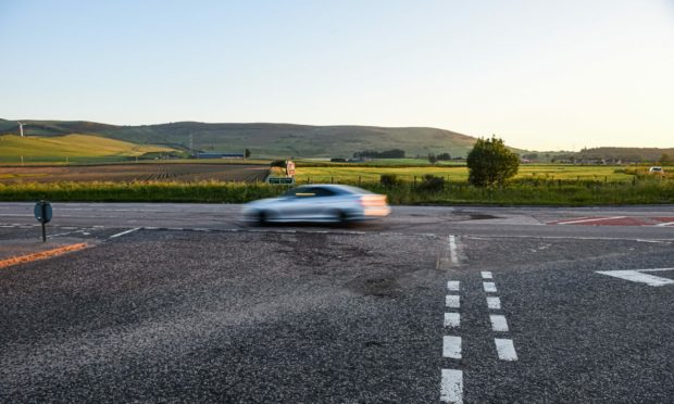 Transport Scotland said the junction would 'likely' be included in a safety review to be concluded in August next year. Picture by Wullie Marr
