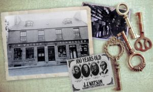 Watsons the ironmongers has been a stalwart on Inverurie's Market Place for 182 years.