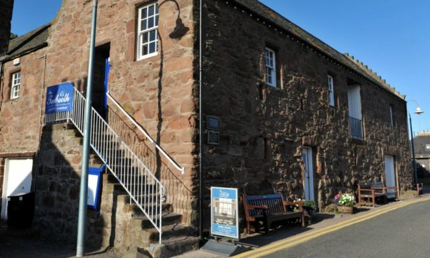 Eating out. Tolbooth Restaurant, Stonehaven.  22/07/10  Picture by Richard Frew