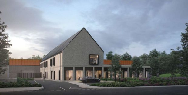 The revised plans for the mortuary have been submitted to Aberdeen City Council.
