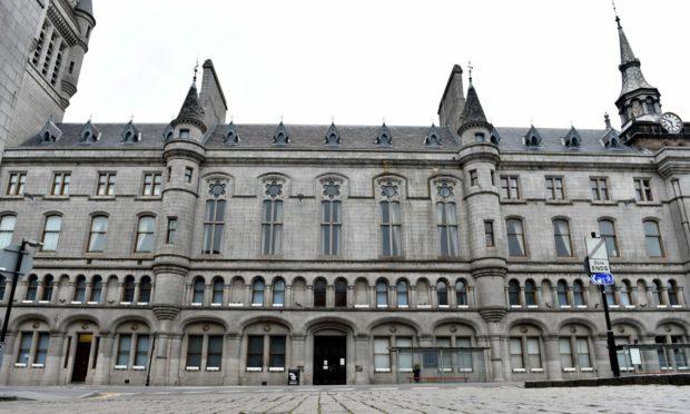 Aberdeen Sheriff Court.