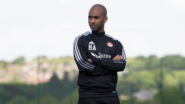 Dons first team coach Henry Apaloo