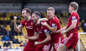 Aberdeen boss Stephen Glass issues 'keep our foot on the gas' demand in bid to maintain strong start to the season