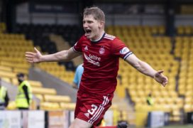 Jack Mackenzie hails Aberdeen's mental strength following late winner at Livingston