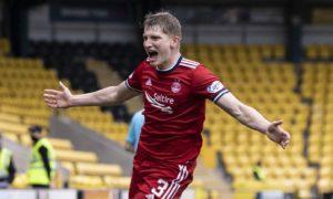 Aberdeen boss Stephen Glass hails rise of goal hero left-back Jack Mackenzie