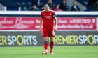 Aberdeen's Scott Brown at full-time during the Premier Sports Cup match between Raith Rovers and Aberdeen.