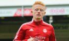 Newcastle United midfielder Matty Longstaff made his Aberdeen debut against Ross County.