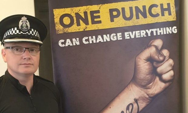 Inspector Mike McKenzie, of North East Division's Alcohol and Violence Reduction Unit