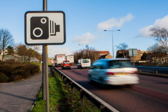 Last year, more drivers were caught speeding on the A90 than any other road in Scotland. Picture by Steve MacDougall