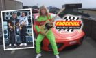 Status Quo went from the slow lane to the fast lane to take 10,000 fans on a trip down memory lane at Knockhill in 2003.