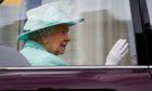 The Queen in Edinburgh in 2016
