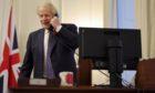 Boris Johnson speaks on the phone with Joe Biden.