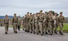 Nearly 100 troops from Fort George are on standby to be deployed to Afghanistan. Photo: Ministry of Defence.
