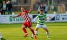 Jonny Smith, left, is positive ahead of Formartine's clash with Buckie