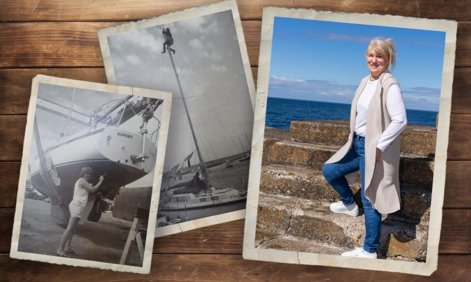 Solo yachtswoman Anne Barns-Graham (nee Miller) is reminisces about her record-breaking transatlantic adventure 35 years ago